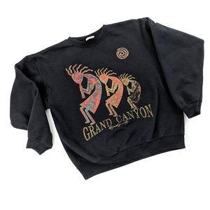 Vintage Grand Canyon Western Tribal Sweatshirt
